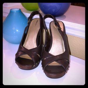 Brown Platform Sandals/Heels